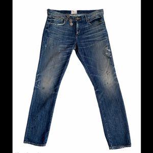 PRPS HEIRLOOM Ripped Torn Splatter Jeans